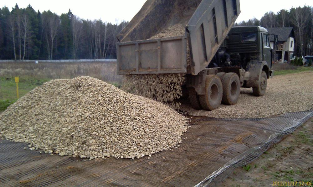 Использование гравия в ландшафтном дизайне - Доставка и продажа песка в Нижнем Новгороде