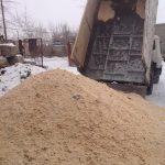 фото доставки песка