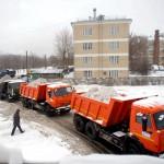 Техника для вывоза снега в Нижнем Новгороде