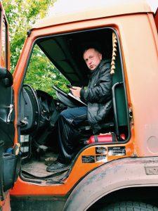 Доставка песка в Нижнем Новгороде водитель